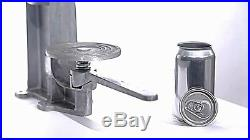 12 oz Beer Cans and Ends (252 Cans) For All American or Oktober Can Seamers NEW