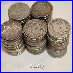 1878-1904 Morgan Silver Dollar Cull Pre-1921 All Mix Dates Lot of 100 Coins
