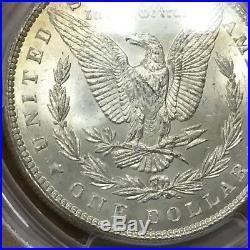 1899 P Morgan Dollar PCGS MS63 VAM 2 R4 all white scarce date