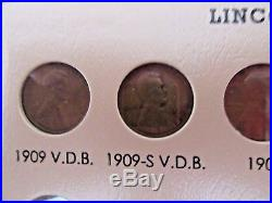 1909-2017Lincoln Cent Complete Set Collection in ALBUM, ALL PENNIES COMPLETED