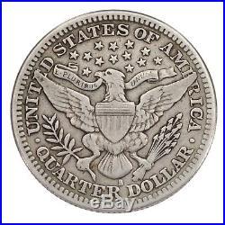 1914-S 25C Barber Quarter Fine+ Condition, All Natural Color, Full Bold Liberty