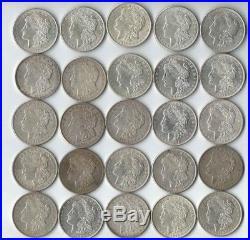 1921 Morgan Silver Dollars 50 Fifty Almost All AU to BU