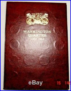 1932-1962 Pds Complete Set Of 80 Silver Washington Quarters With All Key Dates