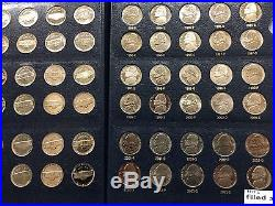 1938-2013 Jefferson Nickels In Albums ALL BU & PROOF 217 COINS Inc SILVER 5c