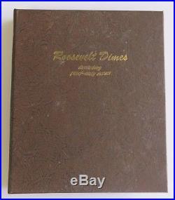 1946-2009-P, D, S Complete Roosevelt Dime Set Dansco BU + ALL Silver & Clad PROOFS