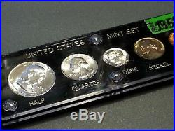 1951 United States UNCIRCULATED SILVER Mint Set All Proof-Like Coins