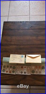 1955 US MINT SET. Original packaging with all envelopes