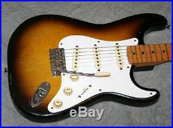 1958 Fender Stratocaster, Two Tone Sunburst, All 1957 Features (FEE0421)