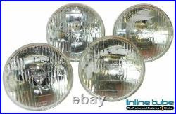 1960-67 All GM Models 5 3/4 T3 Headlights Head Lights Set of 4 Low & High Beam