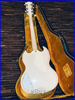 1962 Original Les Paul Custom SG All Original Vintage PAF Pickups NO RESERVE