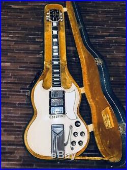 1962 Original Les Paul Custom SG Collectors Dream All Original Vintage