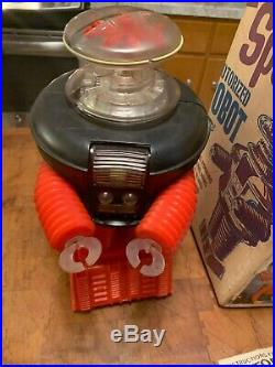 1966 Remco Lost In Space Robot all original in box Instructions Red And Black
