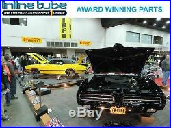 1968-72 Pontiac All V8 Factory Correct Engine Intake Stamped Steel Valley Pan
