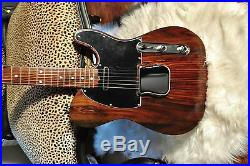 1969 All Rosewood Tele by JVG Luthier Built in USA Fralin loaded TONE JVGuitars