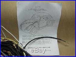 1971-72 VW Super Bug (1302) ALL Wiring Works MAIN Wire Harness Kit -USA MADE