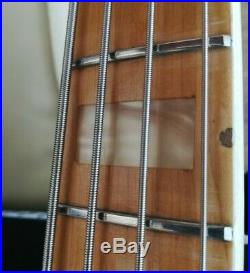 1974 FENDER JAZZ BASS VINTAGE MADE IN USA BLONDE ALL ORIGINAL with OHSC
