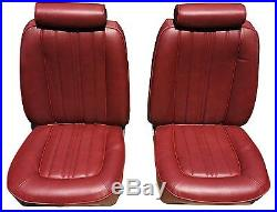 1976-1978 Mustang II Upholstery Kit Front Bucket, New All colors available