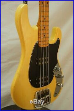 1979 Olympic White Music Man Sabre Bass All Original with Hardshell Case
