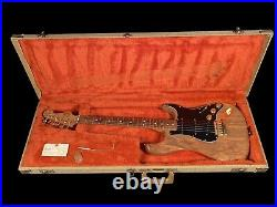 1982 FENDER STRATOCASTER THE STRAT ALL WALNUT w GOLD-PLATED HARDWARE