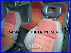 1989-1998 Suzuki Sidekick Front and Rear Set (All Balck)