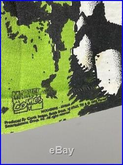 1993 XMEN Shirt Vtg marvel all over print gambit wolverine rouge cyclops Rare