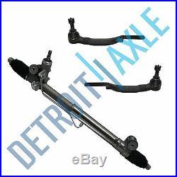 2003-2007 2008 2009 Chevy Trailblazer & Envoy NEW Rack and Pinion +All 4 Tie Rod