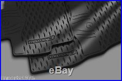 2010-2013 Mazda3 Genuine All weather Floor Mats set Fits 4 & 5 Door 0000-8B-L60