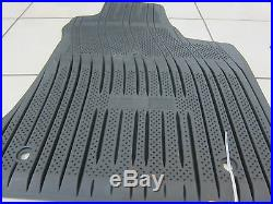 2011-2019 Dodge Charger AWD All Weather Black Rubber Slush Floor Mats Mopar OEM