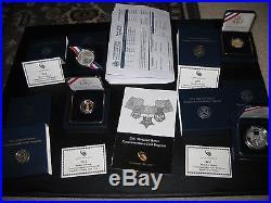 2011 Medal of Honor Commemorative Coins- original set all 4 coins