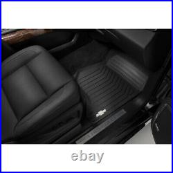 2015-2020 Suburban Front & 2nd & 3rd Row & Cargo All Weather Floor Mats Black