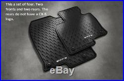 2017 2018 2019 Mazda CX-5 Cargo Tray and All Weather Floor Mats (Set of 4)