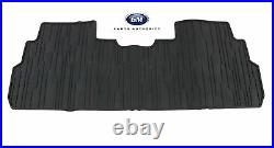 2017-2021 GMC Acadia Complete Premium All Weather Floor Mat Package Black OEM GM