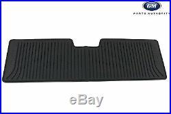 2018-2019 Chevrolet Equinox Premium All Weather Front & Rear Floor Mats Black OE