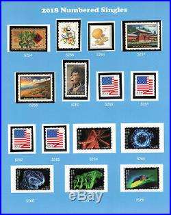 2018 Complete U. S STAMP Collection (Including all the High Dollar Values)- MNH