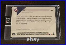 2018 Topps Now #rc-5a Juan Soto Auto # 57/99 2018 Topps Mlb All-star Rc Team