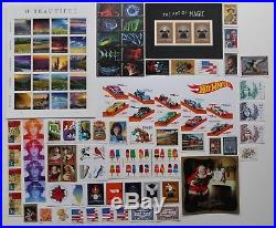 2018 Us Stamp Complete Year Set, All Stamps Issued, Commemoratives Plus & Rw85