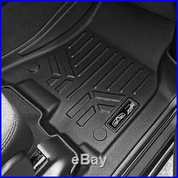 2019 RAM 1500 Crew Cab MaxLiner All Weather Floor Mats Liner Custom Fit BLK Set