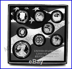 2019 S US Limited Edition Silver Proof 8 Coins Set OGP (First all. 999 silver)