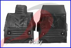 2020 2021 C8 Corvette Premium All Weather Floor Liners Black Jake Logo 84534619