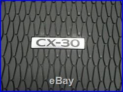 2020 Mazda CX-30 All Weather Floor Mats High Wall (set of 4) DGJ2V0350