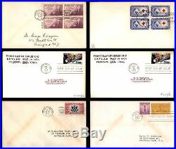 389 US First Day Covers 1920s-1980s All Pictured Many Different Cachet Designers