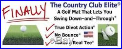 3x5 Real Feel Country Club Elite Golf Mat Practice Matt -Hit All of Your Clubs