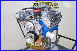 427 Small Block Ford Custom Stroker Engine All Forged Alum Heads 351 408 550HP