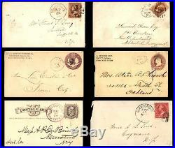 452 United States Covers Mostly commercial Some 19th Century all Pictured
