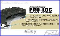 4 Pro-Line Badlands MX43 Pro-Loc All Terrain Tires Mounted for X-MAXX PRO1013113