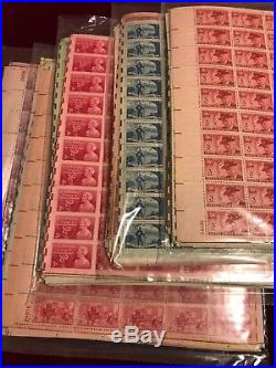 (50) 3 cent Mint Sheets MNH OG ALL SHEETS OF 50 GREAT MIX
