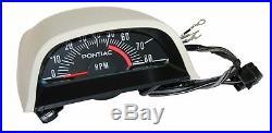 68-72 ALL Pontiac GTO Factory Hood Tach Guage Tachometer with Vent 5100 RPM RAIII