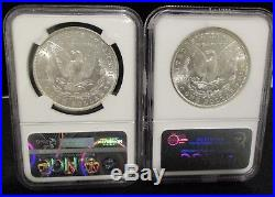 (6) Different MS63 Pre 21 Morgan Silver Dollars All NGC See Description