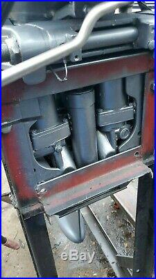 90 HP Yamaha Outboard Motor 2-Stroke 20 90TLRD 120PSI all oil injection