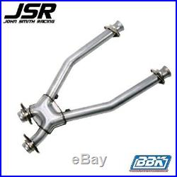 96-04 Mustang (all 4.6L) BBK Short Off Road X-Pipe for Long Tube Headers